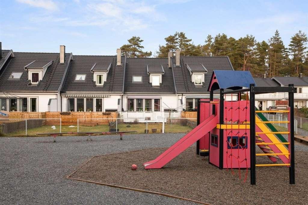 Rekkehus i Måstad Borettslag.
